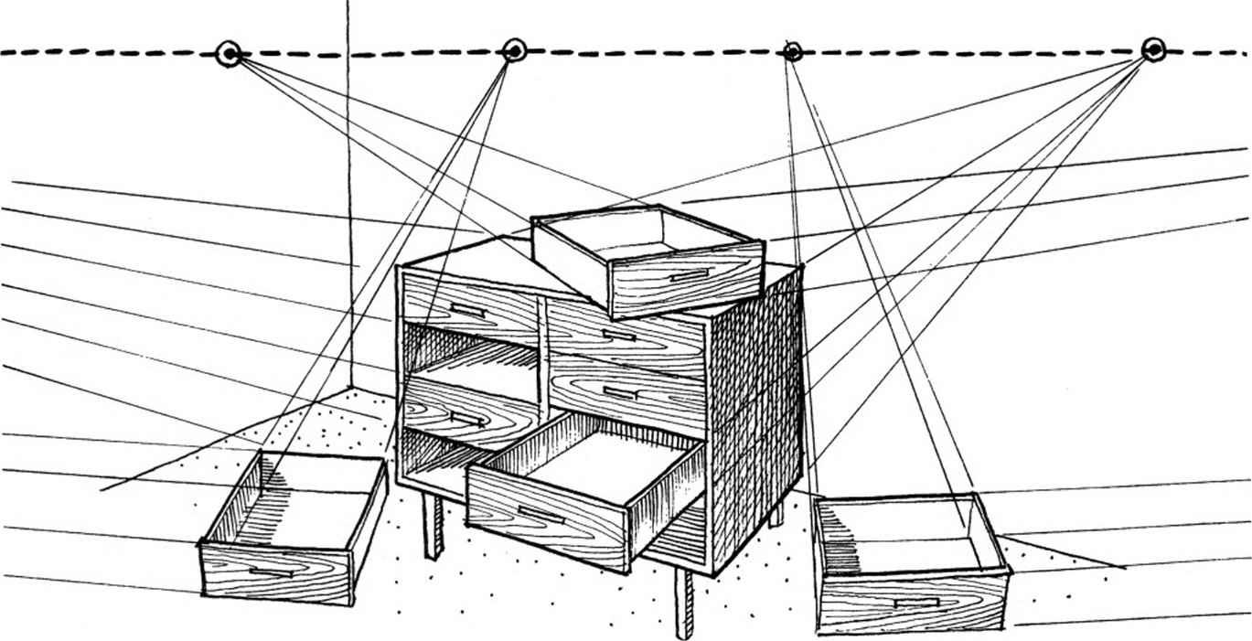 Horizon Line Art Definition : Perspectiva de dibujo basico en joyas personal