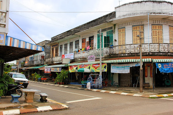 Shop houses - Savannakhet - Laos