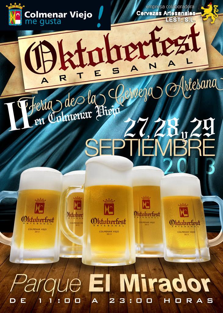 Hablemos de cerveza ii oktoberfest artesanal en colmenar viejo - Empresas colmenar viejo ...