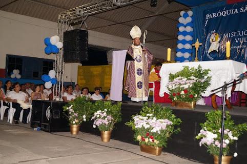 Abertura do Ano Santo na paróquia de S. Pedro e S. Paulo - Paraíba do Sul/RJ.