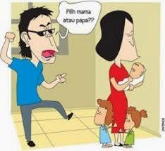 cerita lucu terkonyol ikut mama