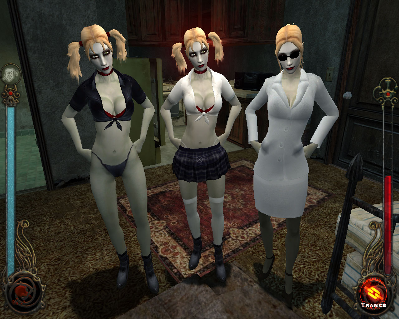 Vampire the masquerade bloodlines nude skins naked films