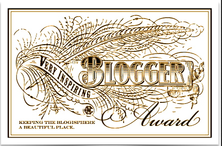 Very Inspiring Blogger Award
