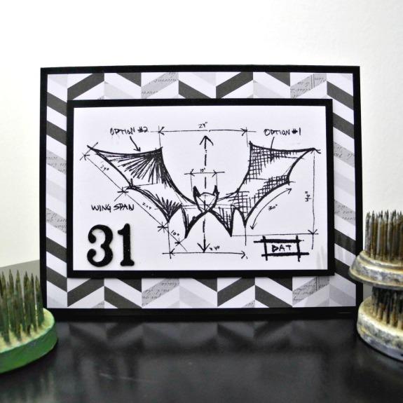 31 by Jennifer Ingle #JustJingle #BazzillBasics #TimHoltz #StampersAnonymous #Cards