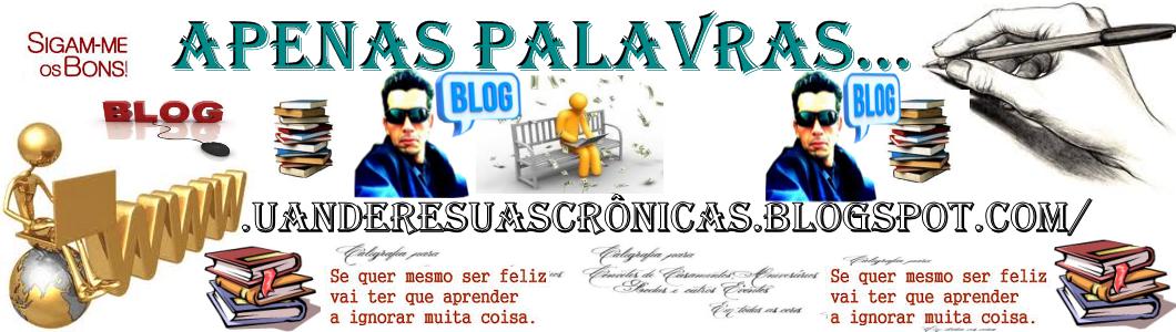 APENAS PALAVRAS