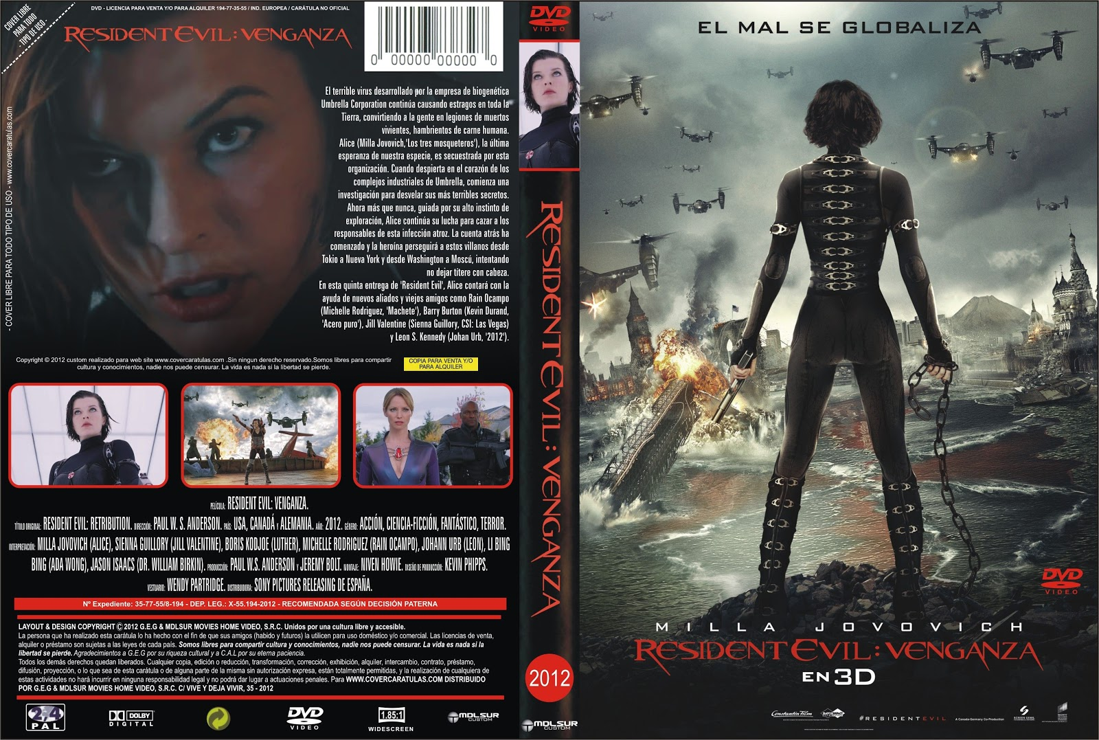 Resident Evil 5 Retribution En Espanol Latino