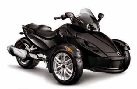 gambar motor roda tiga