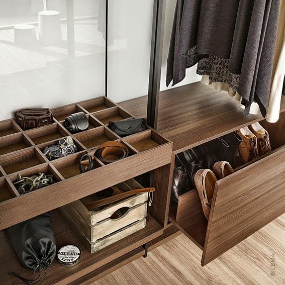Cymisa closets armarios y vestidores for Closet modernos para hombres