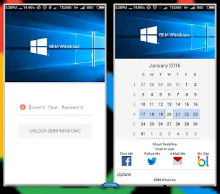 BBM Windows 2.11.0.18 + Download Font + Load Themes