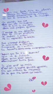 L'amour partagé sur Facebook poème d'amour