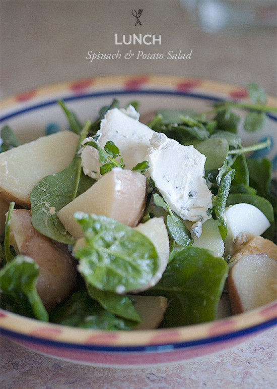 Spinach & Potato Salad