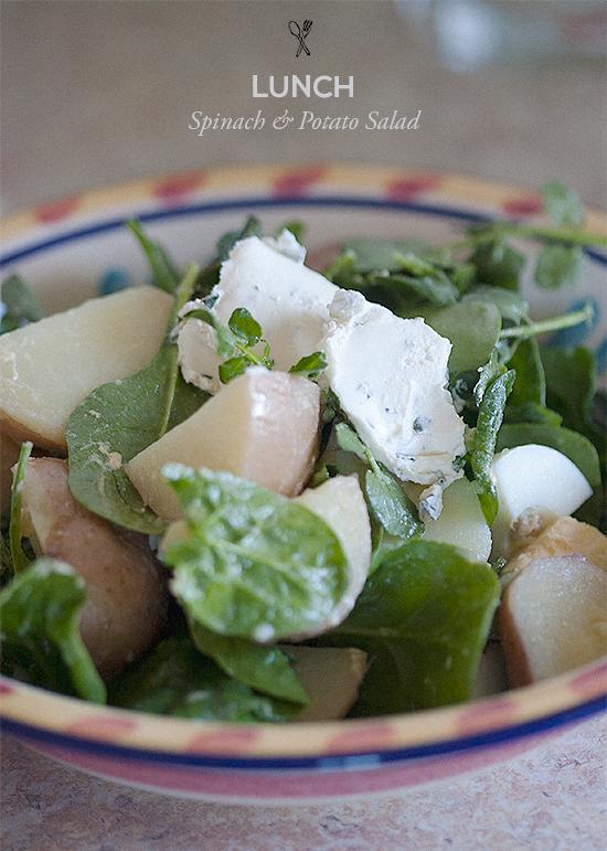 Spinach & Potato Salad