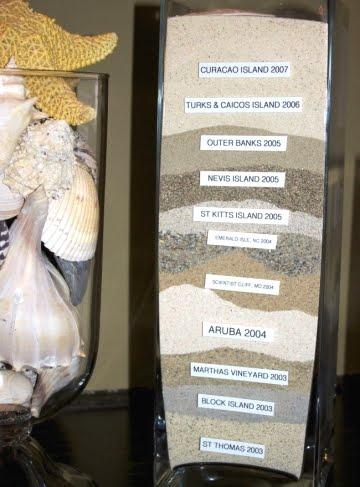 sand craft for vase