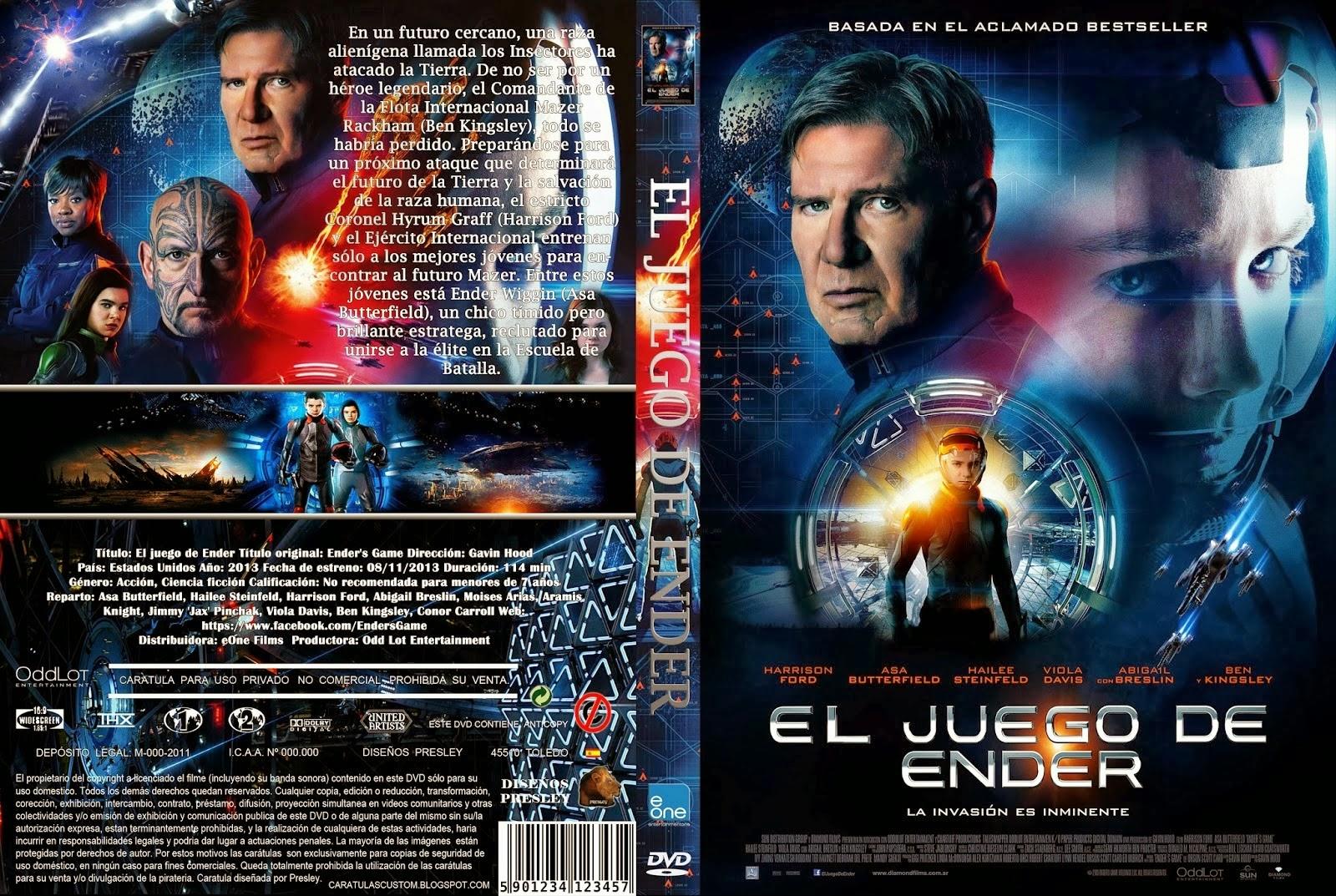 El Juego De Ender DVD