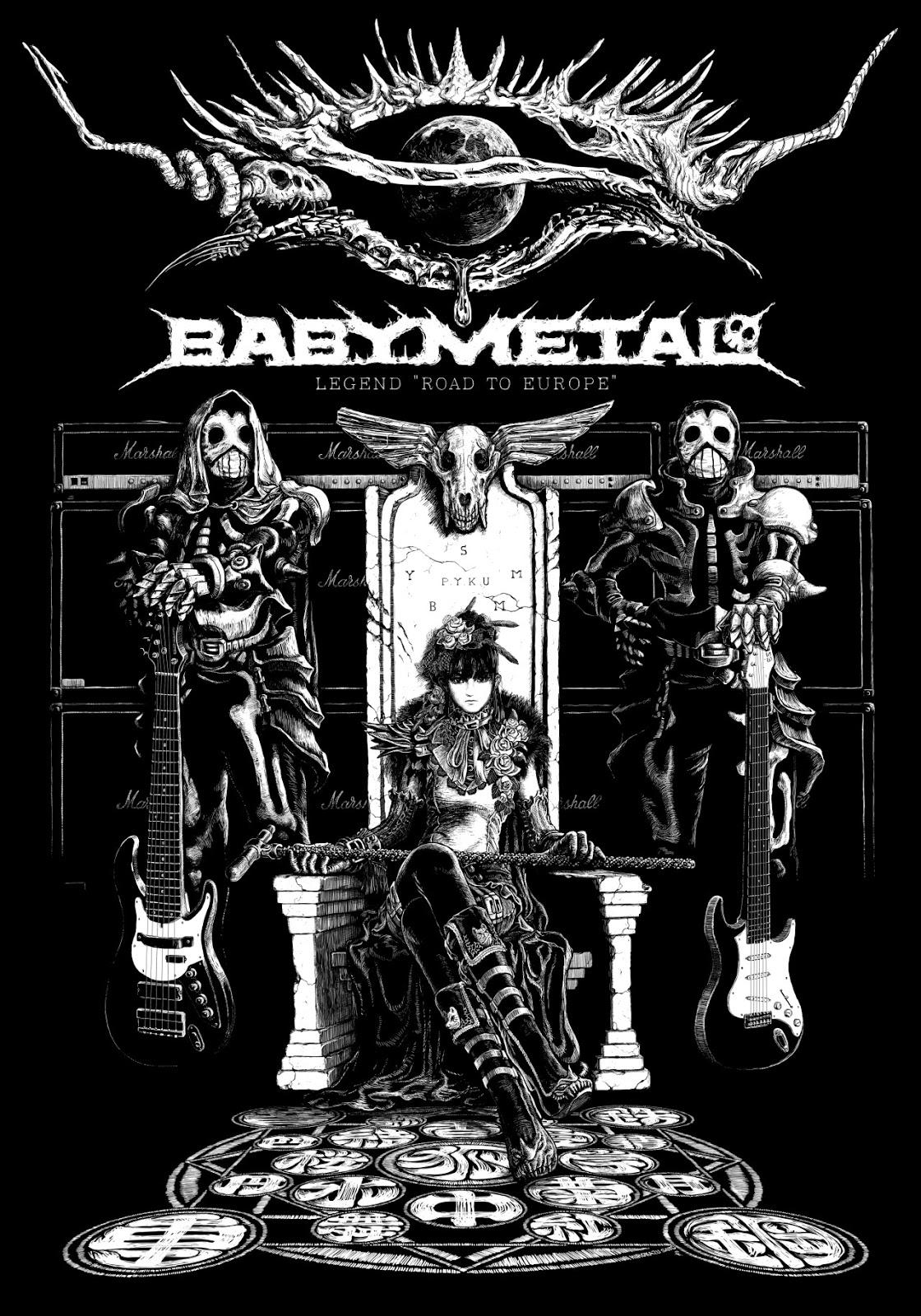 Babymetal Fan Babymetal Fan Art By Hirokazu Sato