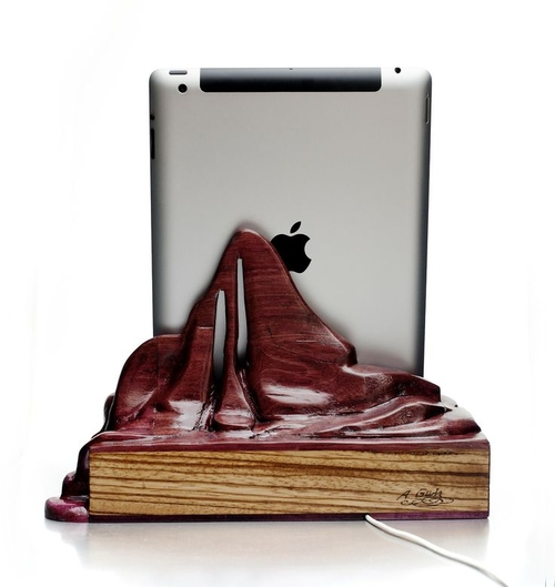 10-Tablet-Stand-Alan-Gwizdowski-Surreal-Salvador-Dali-Wood-Furnishings-www-designstack-co