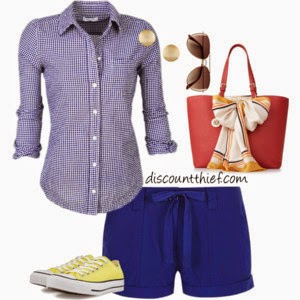 preppy travel style for summer