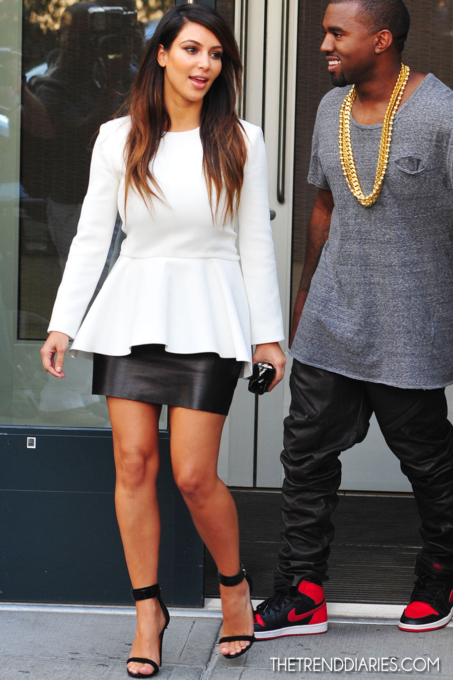 kim kardashian street style 2012 wwwpixsharkcom