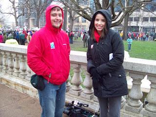 WKOW TV News crew