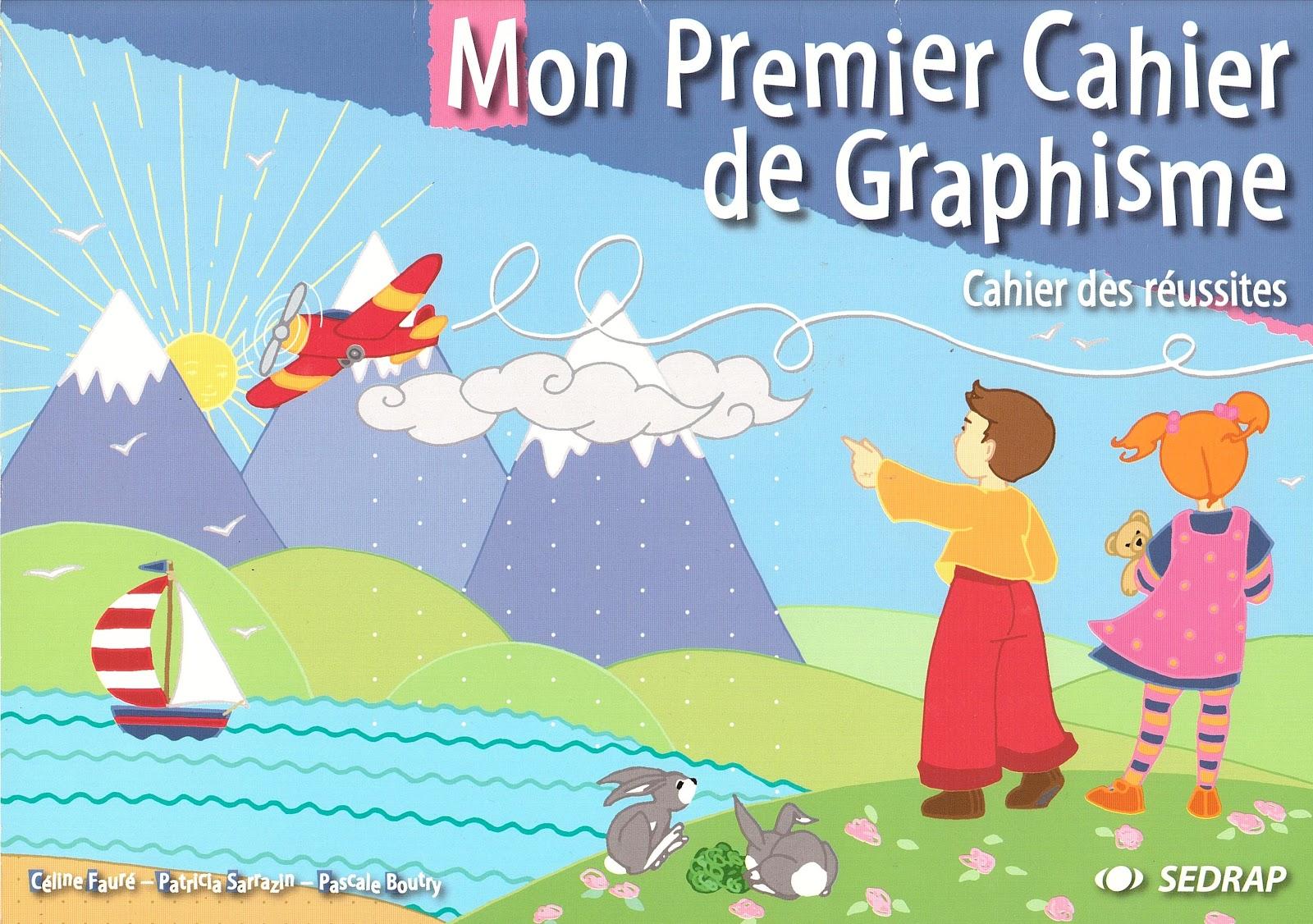 Extrêmement Céline Monchoux: MON PREMIER CAHIER DE GRAPHISME NU33
