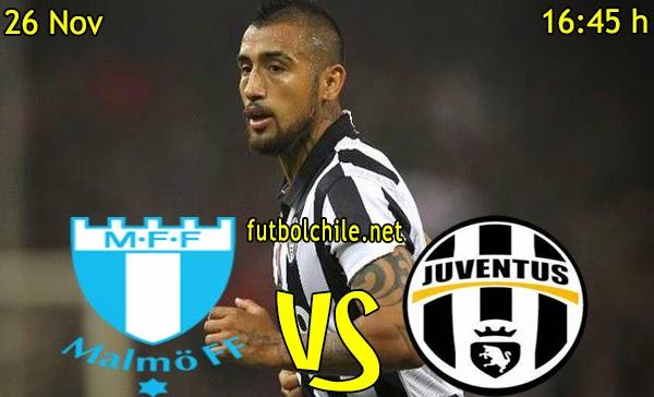 Malmo vs Juventus- Champions League - 16:45 h - 26/11/2014