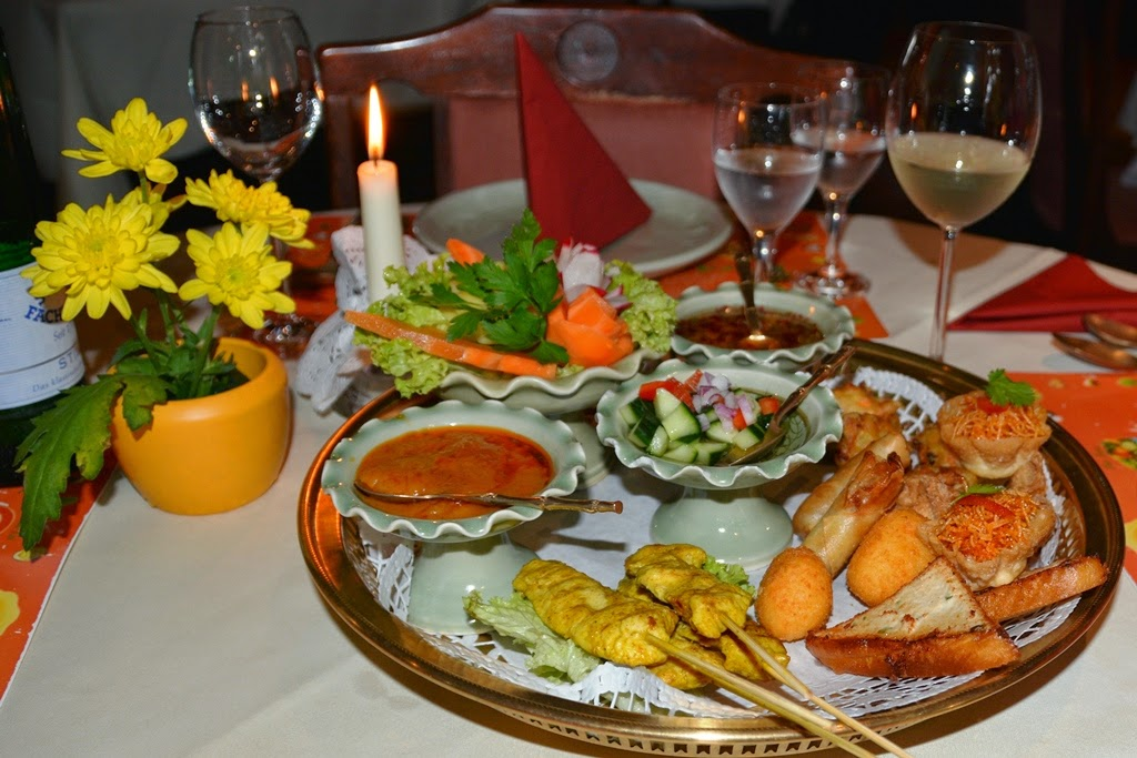 Thai Restaurant Sawasdee Wuppertal mixed starter