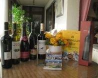 3 Rotweine, 1 Weißwein, 1 Sekt,  1 Portwein  aus Portugal importiert und erhältlich im Geschenkesho