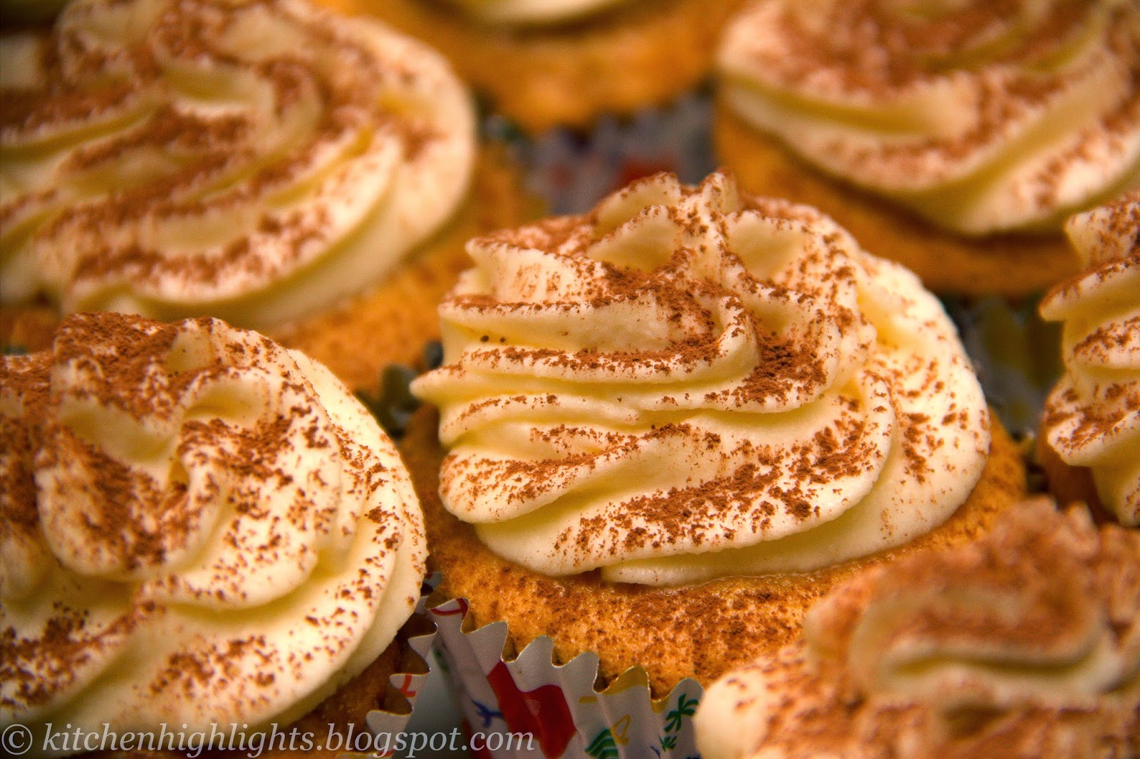 A decadent fusion between elegant tiramisu and delicious cupcakes