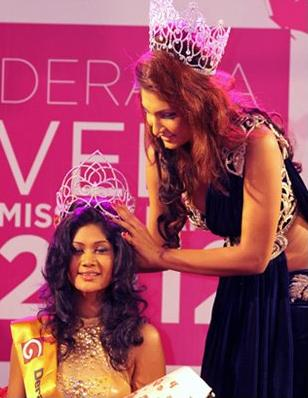 representative of srilanka in miss world 2012