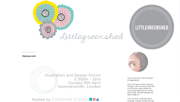 illustration design littlegreenshed