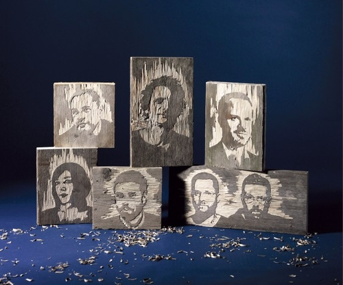 06-Wood-Portraits-Kyle-Bean-Illustrator-Art-Director-who-makes-things-out-everything-www-designstack-co