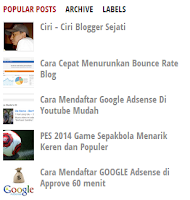 SEO Pengaruhi Popular Post ?