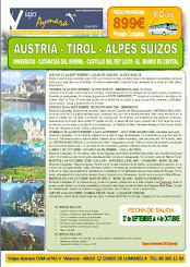 Circuito Austria-Tirol-Alpes suizos