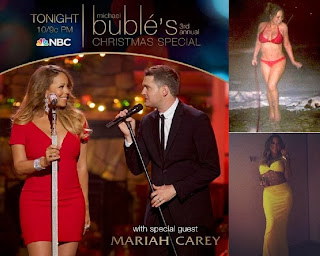 English: Mariah Carey Red Bikini Aspen Mountain Colorado