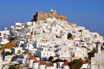 Vistas de Astipalea - Islas Griegas