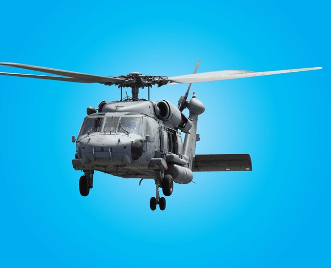 Free Vector Army Helicopter