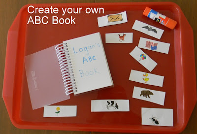 make your own alphabet book, alphabet activities, alphabet letter activities,
