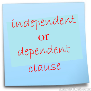 dependent or independt clause