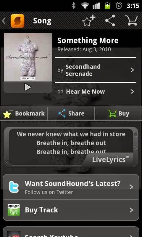 aplikasi android gratis keren soundhound