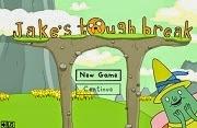Hora de aventura Jake Tough Break