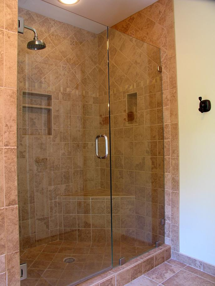 Bathroom showers pictures