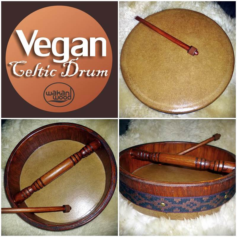 Vegan Celtic Drum - Tambor Celta Vegano
