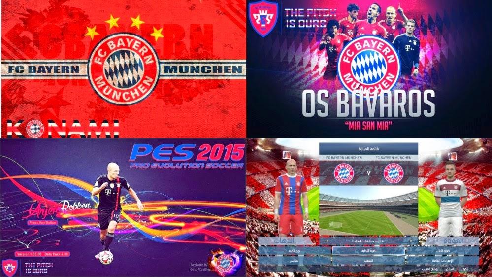 Kumpulan Start and Title Screen untuk PES 2015