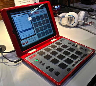 Akai MPC Fly  image from Bobby Owsinski's Big Picture blog