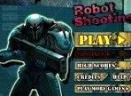 robot shooting hackeado