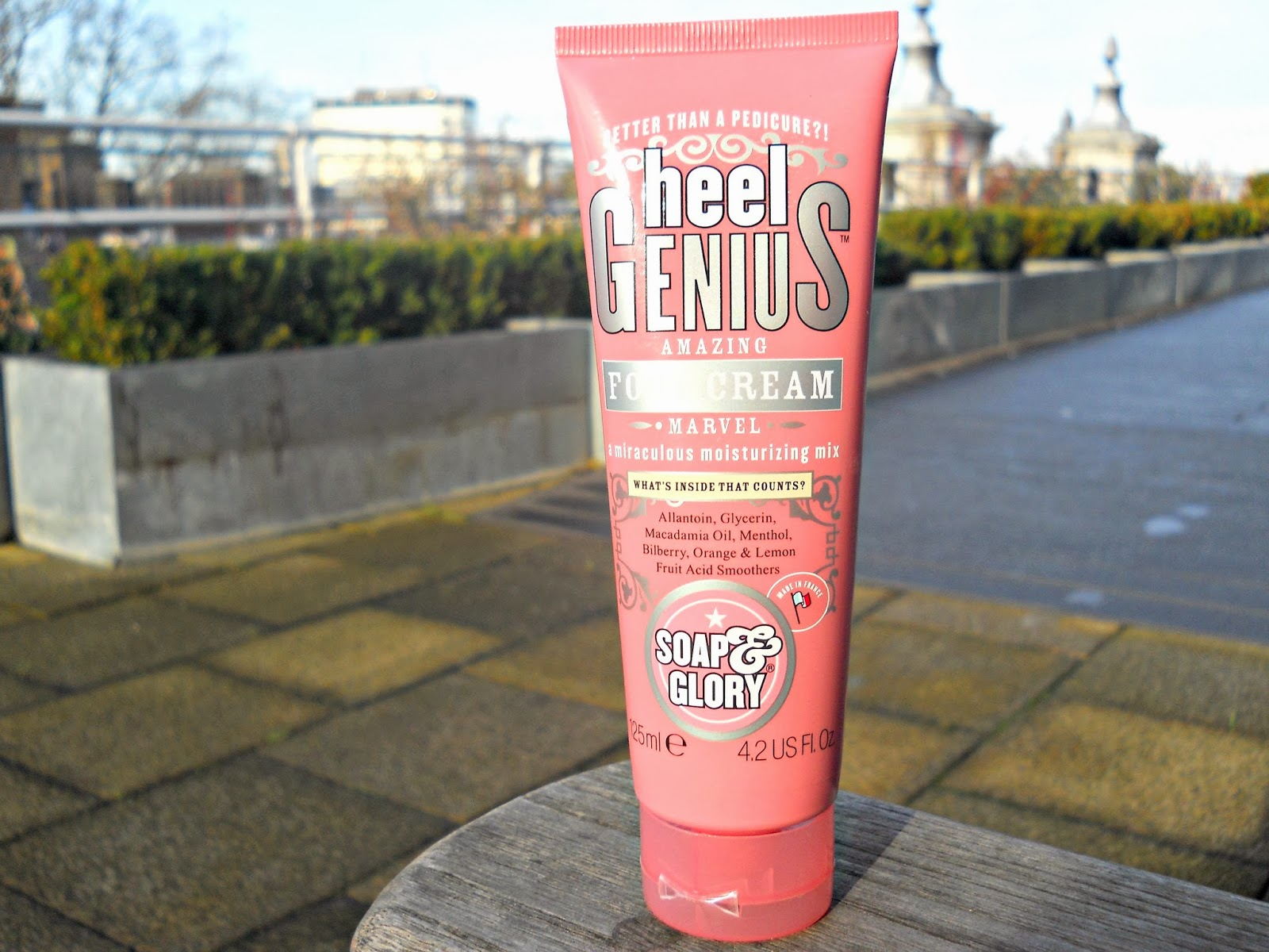 soap and glory foot cream reviews