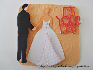 Cricut Wedding Anniversary Card
