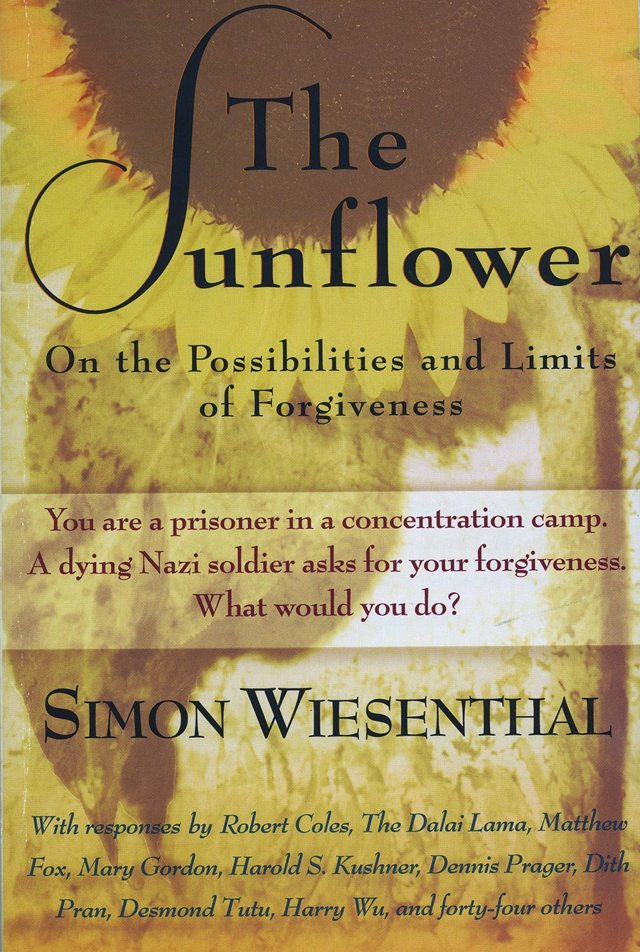 simon wiesenthal essay I imagine an existence consumed by violence and despair the sunflower delves us into this existence through the eyes of the author, simon wiesenthal.