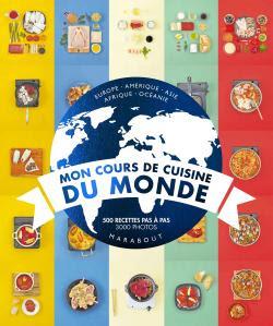 Mon cours de cuisine du monde - Selection livres à offrir pour Noel