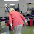 90-year-old grandma does a double back flip!